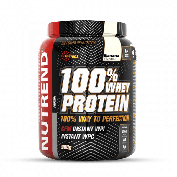 NUTREND 100% Whey Protein 900g Proteine