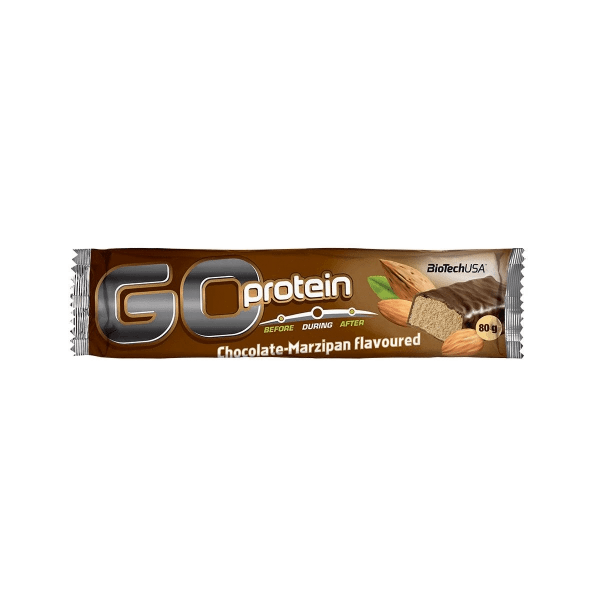 BioTechUSA Go Protein Bar, 21 x 80g Bars und Snacks
