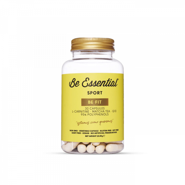 Be Essential BE FIT L-Carnitine,Tea matcha, Q10, 30 Kapseln Health Produkte