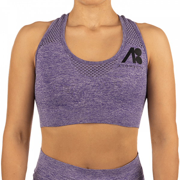 ATOMBODY Workout TOP, woman, M, purpel Sportbekleidung