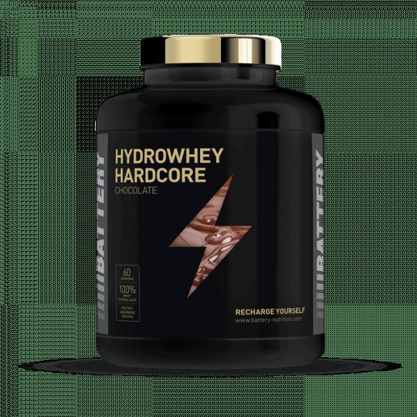BATTERY HYDROWHEY HARDCORE 1800g Proteine
