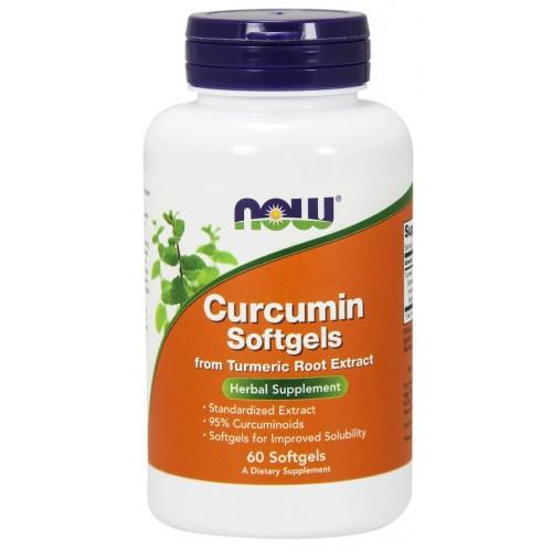 Now Foods - Curcumin 60 Softgels