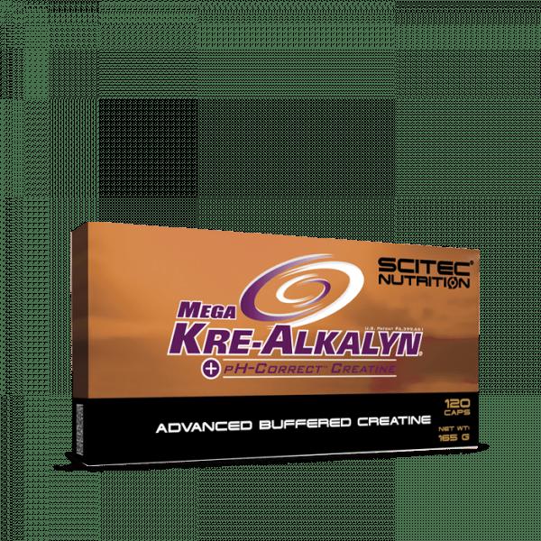 Scitec Mega Kre-Alkalyn 120 Kapseln