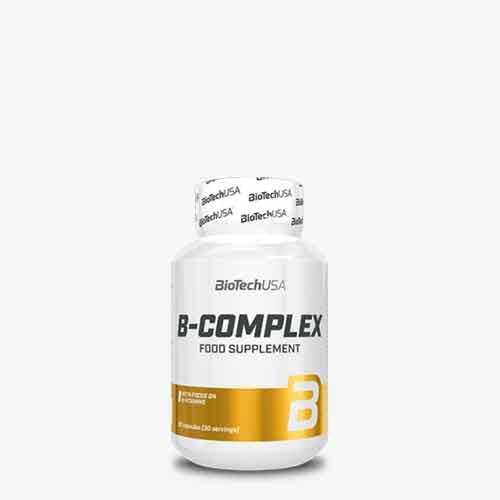 BIOTECHUSA B-Complex 60 Tabletten Vitamine und Mineralien