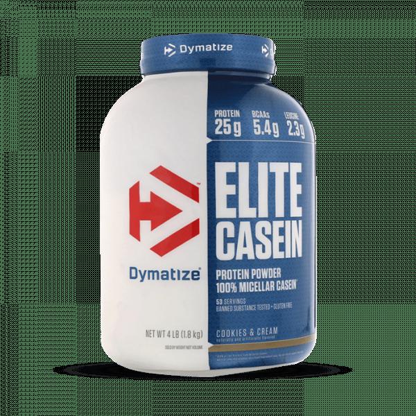 Dymatize - Elite Casein, 1814g Proteine - Cookies & Cream - MHD 31.10.2020