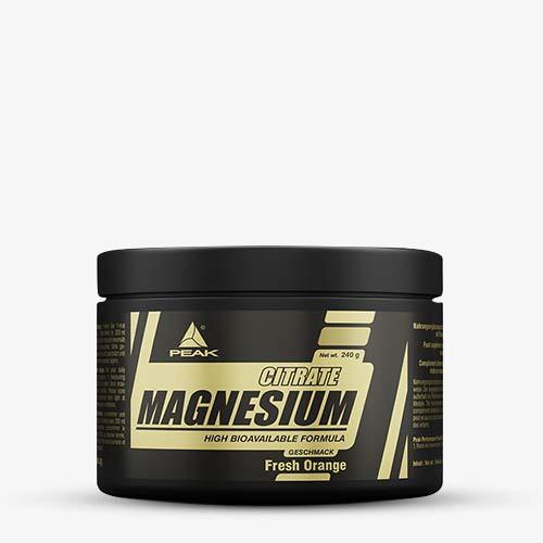 PEAK Magnesium Citrate 240g