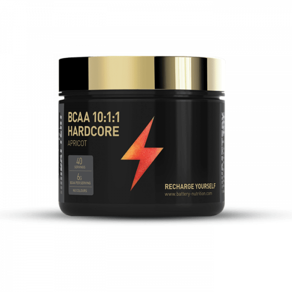 BATTERY BCAA 10:1:1 HARDCORE 300g Aminos
