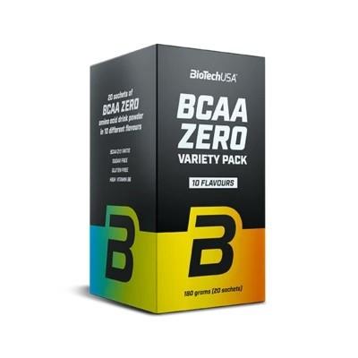 BioTechUSA BCAA Zero Variety Pack, 20 x 9g Aminos