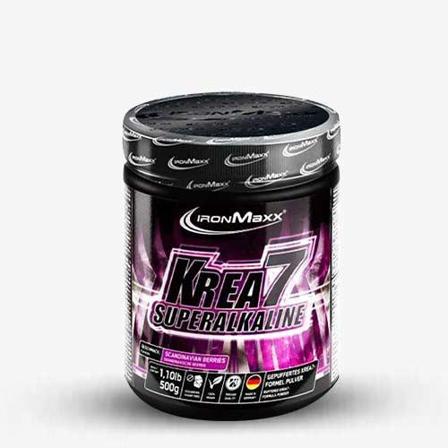 IRONMAXX Krea7 Superalkaline Powder 500g