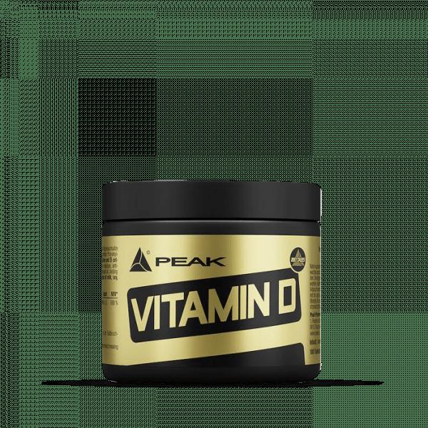 Peak - Vitamin D (180) Standard Vitamine und Mineralien
