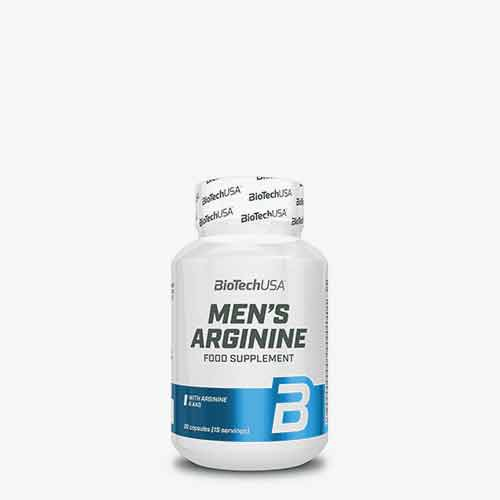 BIOTECHUSA Men's Arginine 90 Kapseln Vitamine und Mineralien