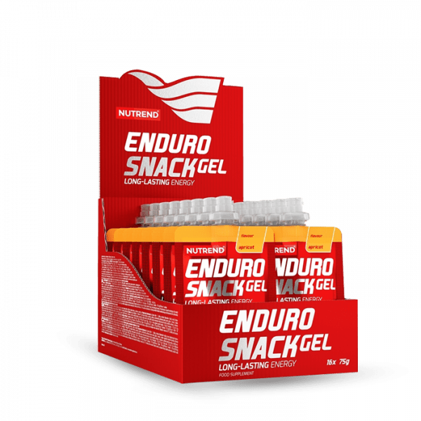 NUTREND ENDUROSNACK sachet 16 x 75g - Apricot - MHD 12.02.2020 Gainers/Kohlenhydrate