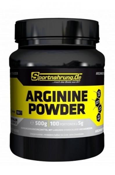 Sportnahrung.de Arginine Powder 500g