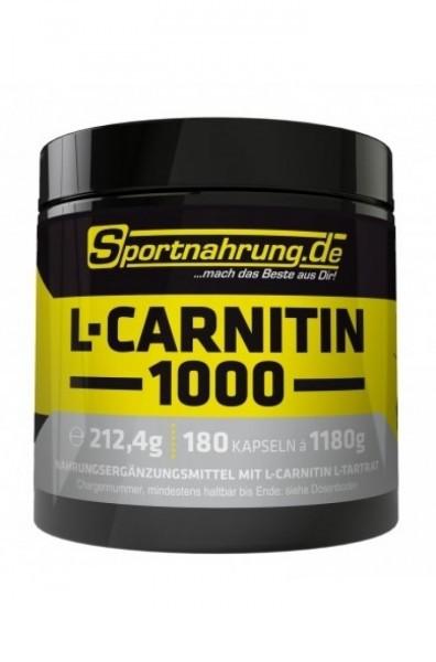 Sportnahrung.de L-Carnitin 1000 180 Kapseln