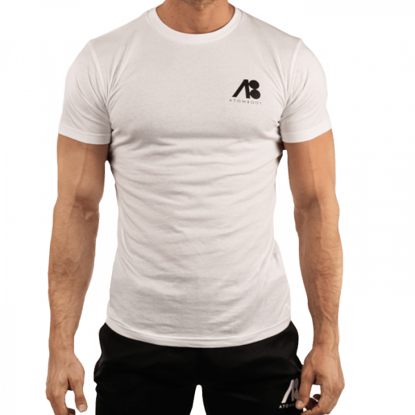 ATOMBODY T-Shirt MUST HAVE men white Sportbekleidung