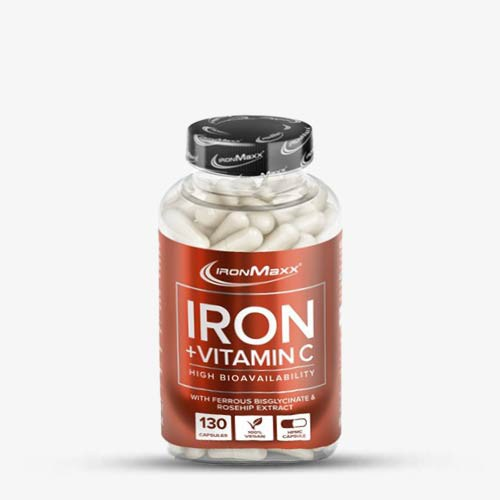 IRONMAXX Iron + Vitamin C 130 Kapseln