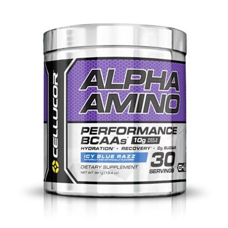Cellucor Alpha Amino 366g Aminos - Blue Rasberry - MHD 31.01.2021