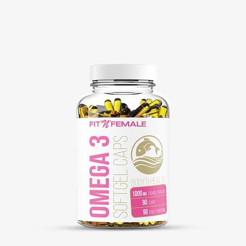 FITNFEMALE Omega 3 - hochdosiert 90 Kapseln