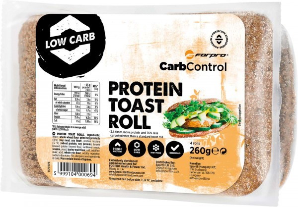 FORPRO Protein Toast Roll 260g