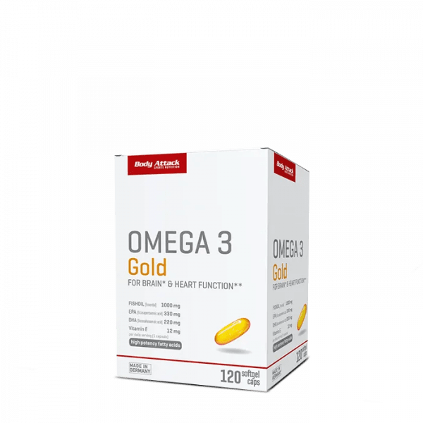 Body Attack Omega 3 Gold 120 Kapseln Health Produkte