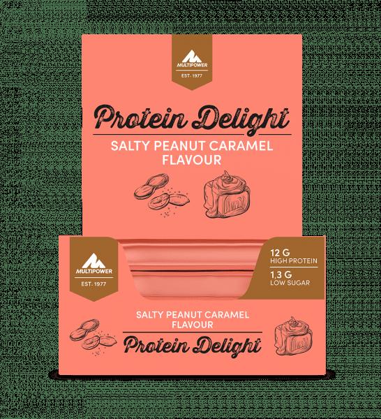 MULTIPOWER 34% Protein Delight Riegelbox 18 Stück 35g Bars und Snacks