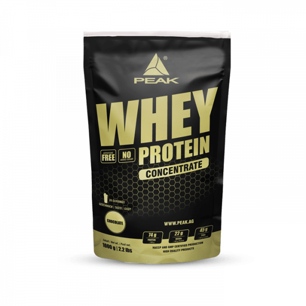 Peak - Whey Protein Concentrate (1000g) Proteine