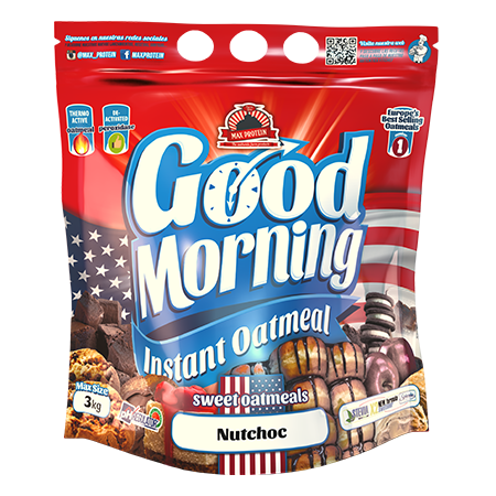 MAX PROTEIN GOOD MORNING INSTANT® - OATMEAL 3000g Food