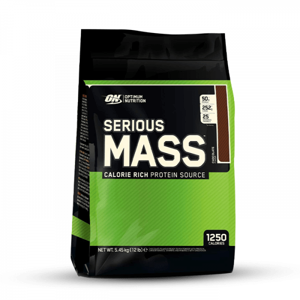 Optimum Nutrition Serious Mass, 5454g Gainers/Kohlenhydrate
