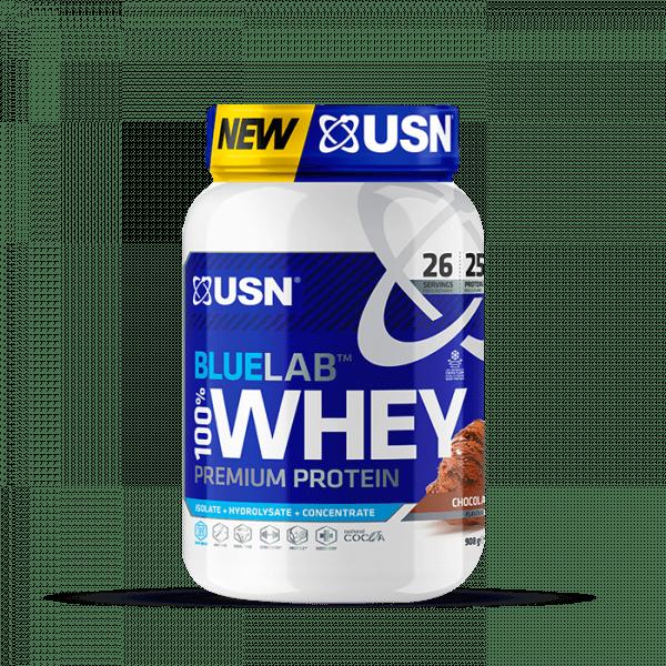 USN BLUE LAB 100% WHEY PROTEIN 908g Proteine