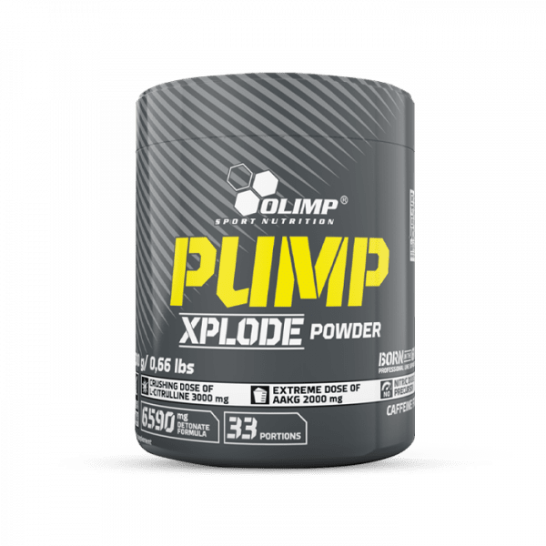 OLIMP Pump Xplode Powder, 300g, Fruit Punch