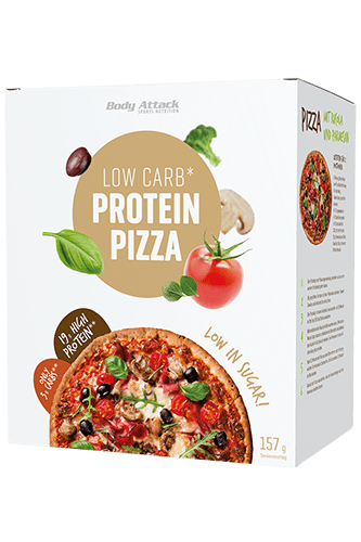 Body Attack Low-Carb-Protein Pizza, 157g Food